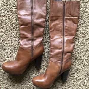 Steve Madden Rikki leather boots